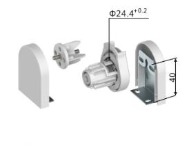 Mecanismos de cadena 25 mm - Juego / Control R4
